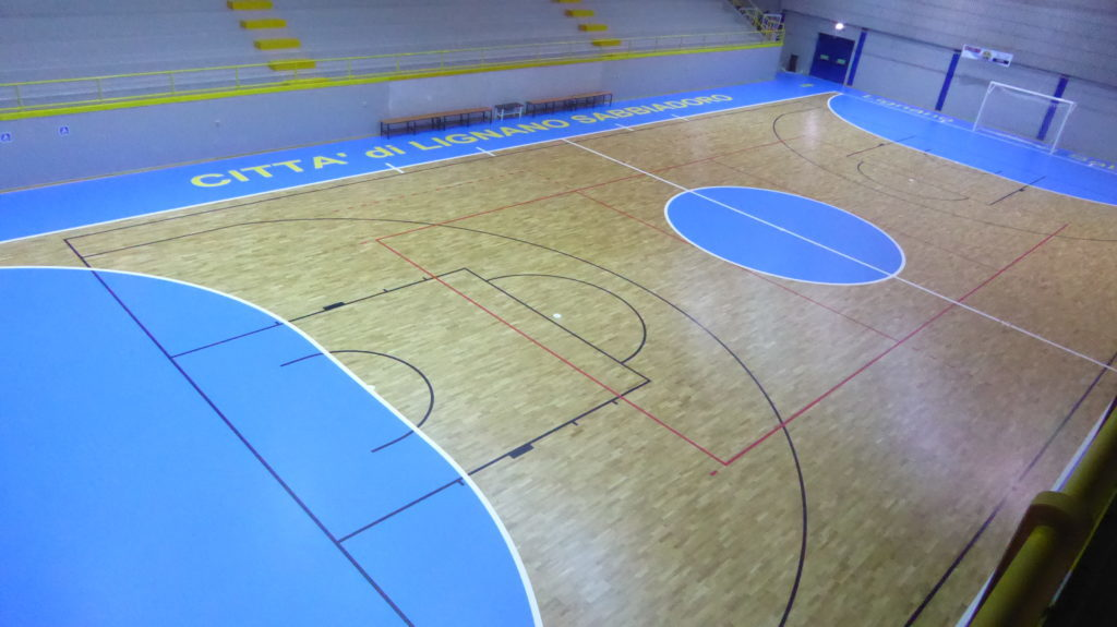 A playing field approved by the National Football 5 Division for the futsal of excellence