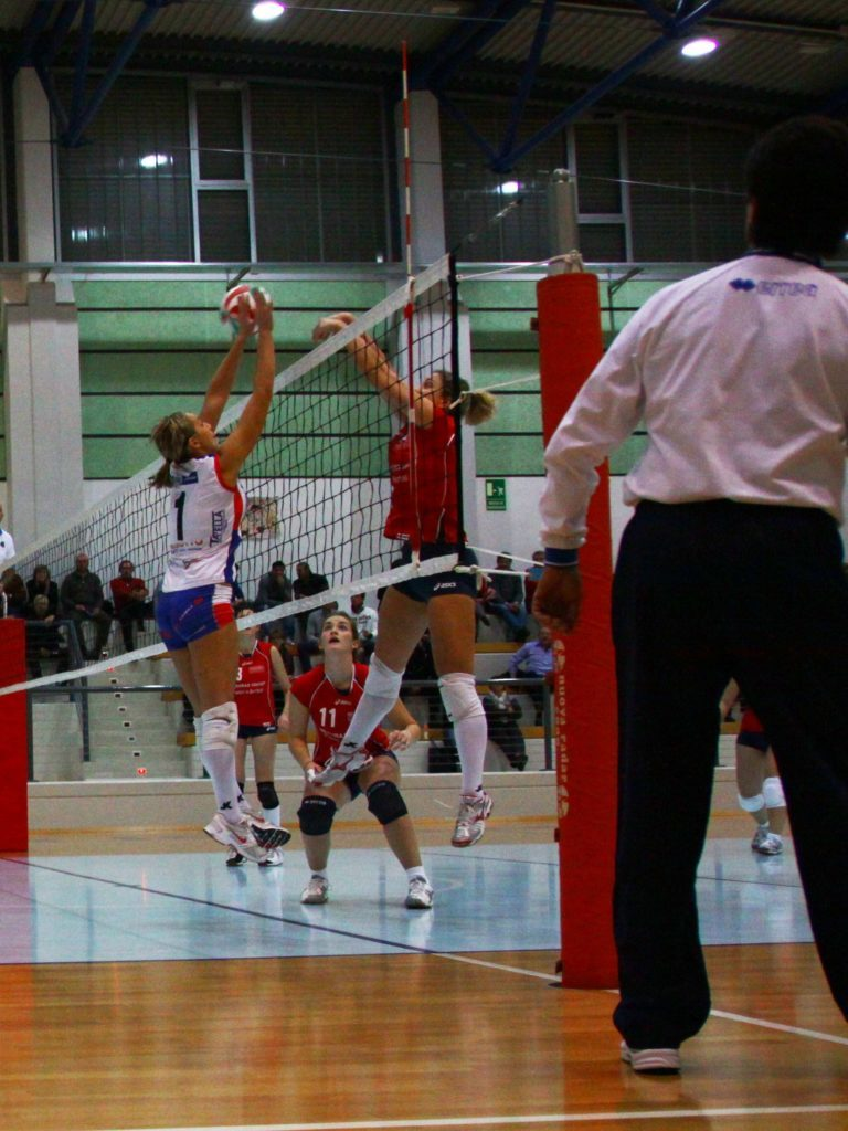 Because of its high elasticity Jump System is the volleyball player's favorite Dalla Riva parquet