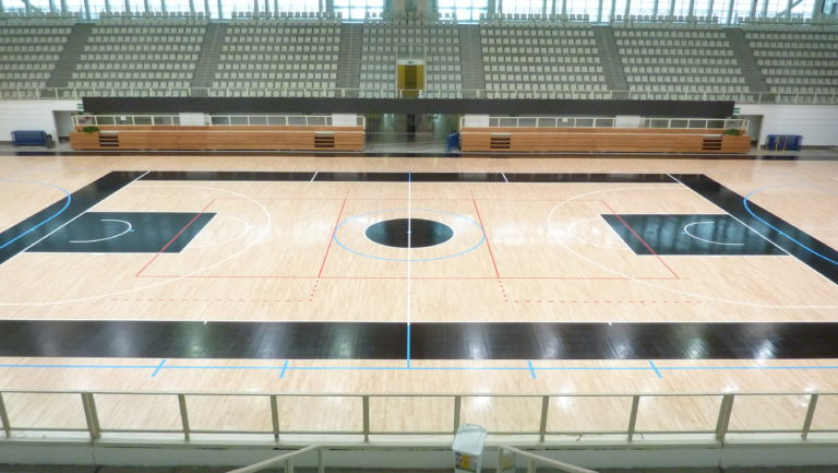 PalaTrento, the home of Aquila Trento Basketball