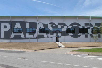 Paruzzaro's new palasport