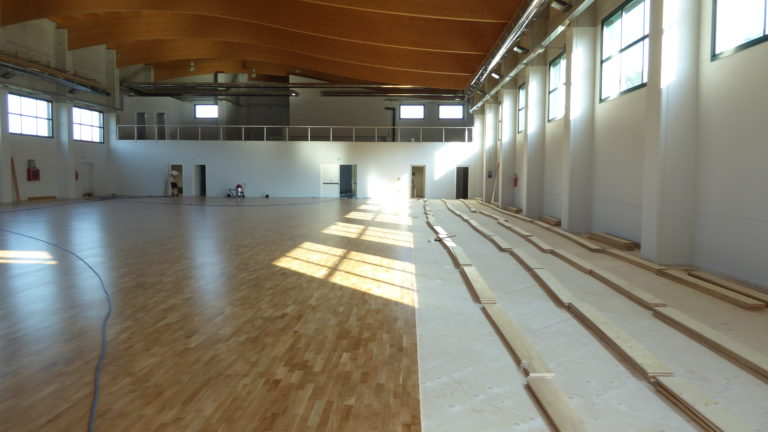 With Paruzzaro's palasport, the Dalla Riva Sportfloors references in Piedmont are becoming more and more numerous