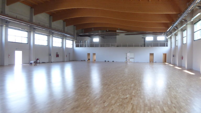 In Piedmont, the undisputed domain of Dalla Riva Sportfloors in the sports flooring sector