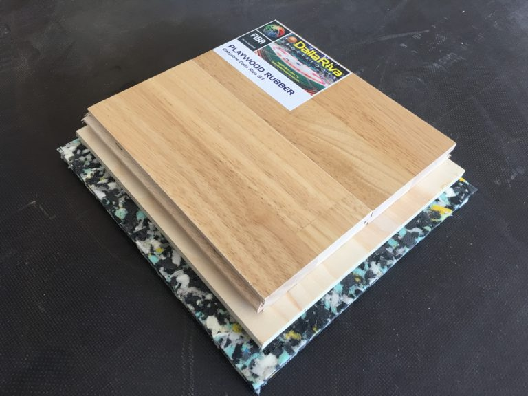 The Playwood Rubber 22, as all the Dalla Riva Sportfloors parquet, is approved by FIBA