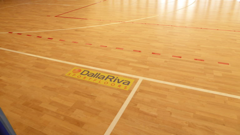 Dalla Riva Sportfloors has signed another sports parquet for the Garden Sporting Center in Rimini
