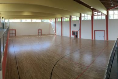 The new sports parquet
