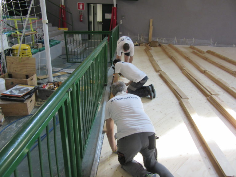 Technicians Dalla Riva to transform the Franchetti Mestre for the matches of Fenice Futsal