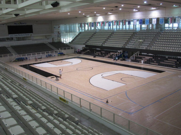 Overview of forums: the sports parquet for Trentino Volley and Aquila Basket is taking shape