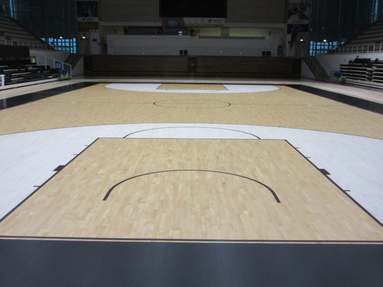 "The new sports floor Dalla Riva di Trento is the same as the ""illustrious"" colleagues of EA7 Milano in Assago"