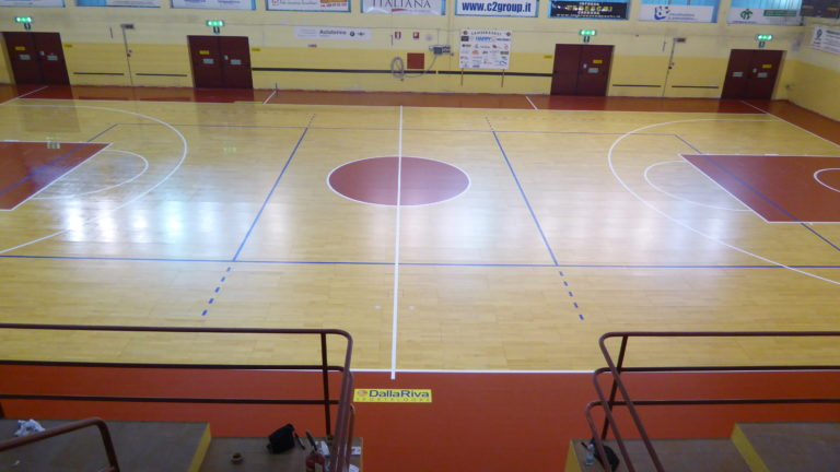Vanoli, Juvi Ferraroni and Sanse are basketball club promoters of the new installation