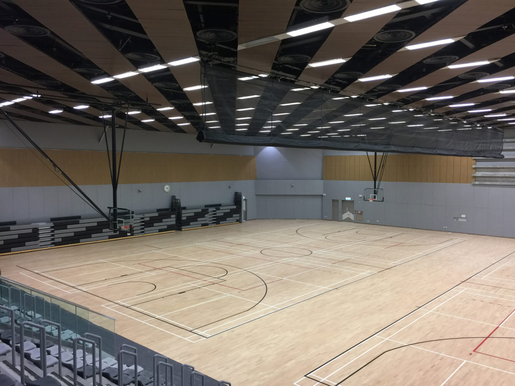 A new important international reference for Dalla Riva Sportfloors, chosen by the University of Hong Kong because its sports floors are approved by FIBA
