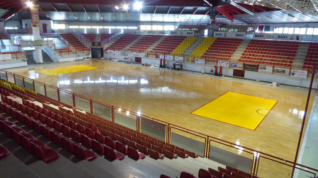 The new wooden floor for hockey signed by Dalla Riva Sportfloors
