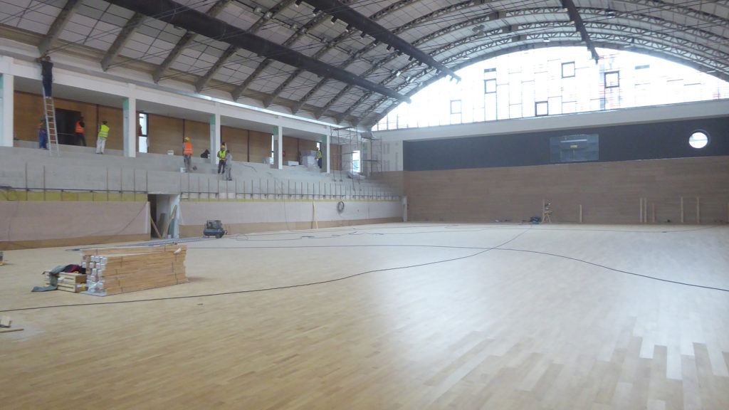 Fifth day, finished parquet installation
