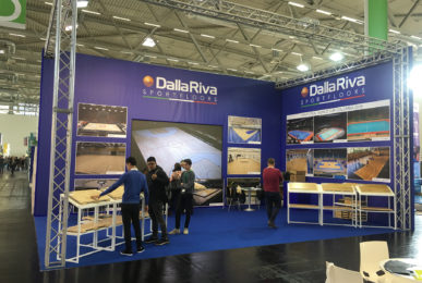Dalla Riva Sportsfloors is also a leader in Cologne