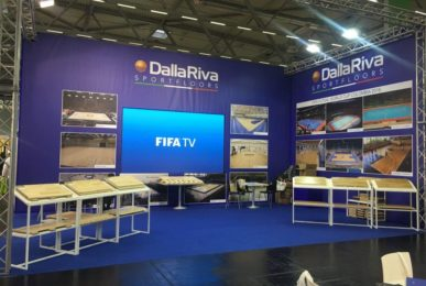 FSB Cologne 2017 International Sporting Exhibition - Dalla Riva FIBA ​​Certified Sports Parquet