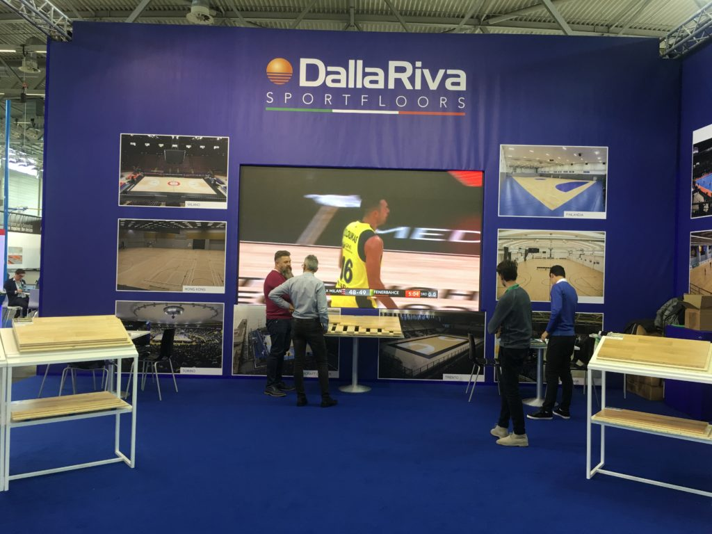The first visitors are interested in Dalla Riva products