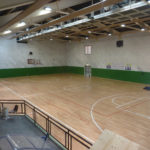 New sports parquet for a Garda Lake gym