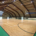 The parquet produced DR FIBA ​​homologated is studied in detail