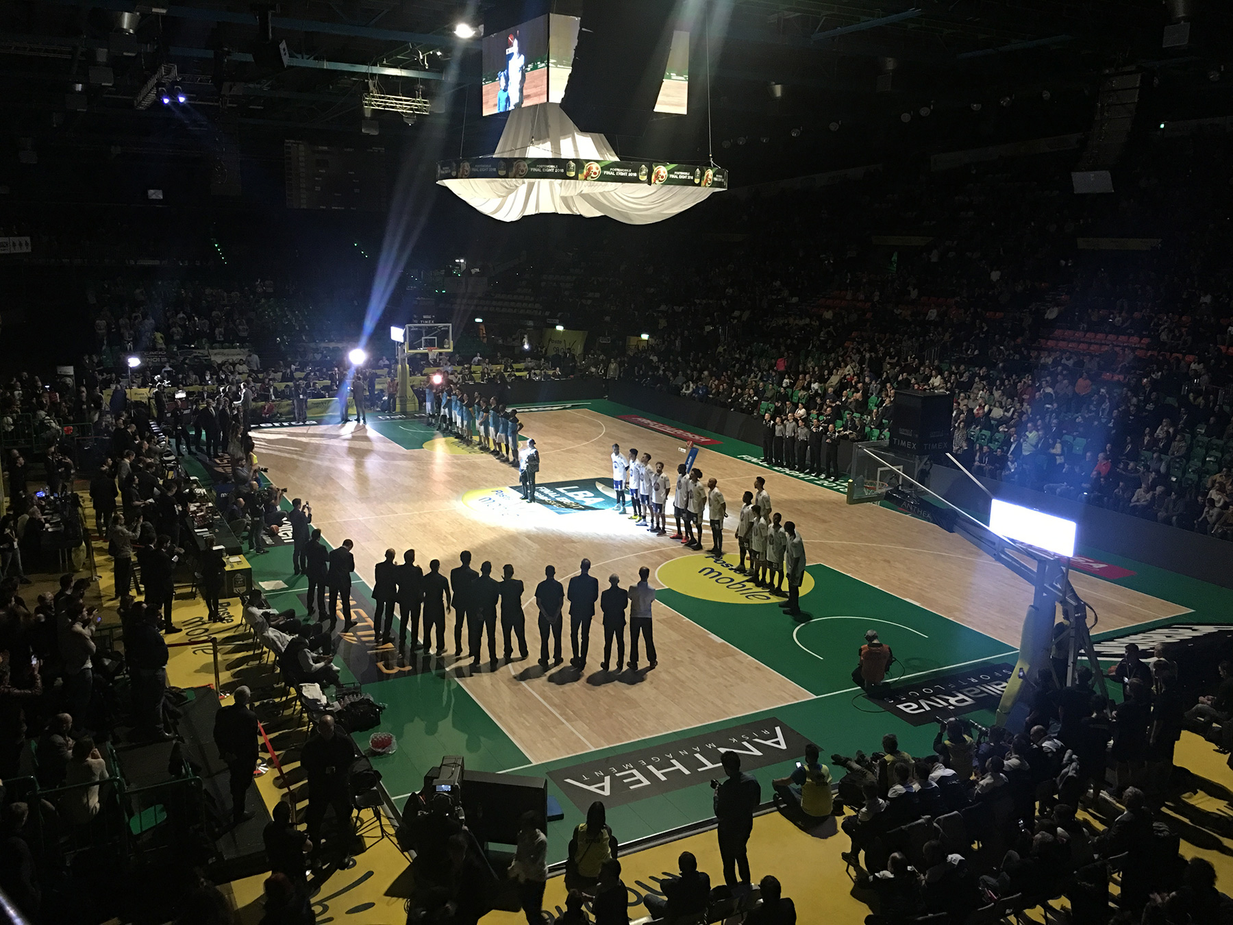 The show of the 2018 Italian Cup Final Eight