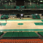 Final Eight 2018: Dalla Riva present with its new removable sports parquet