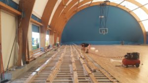 Sardinia: new sports parquet in Cagliari