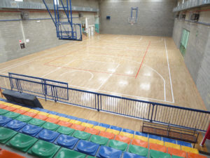 New sports parquet in the heart of Piedmont