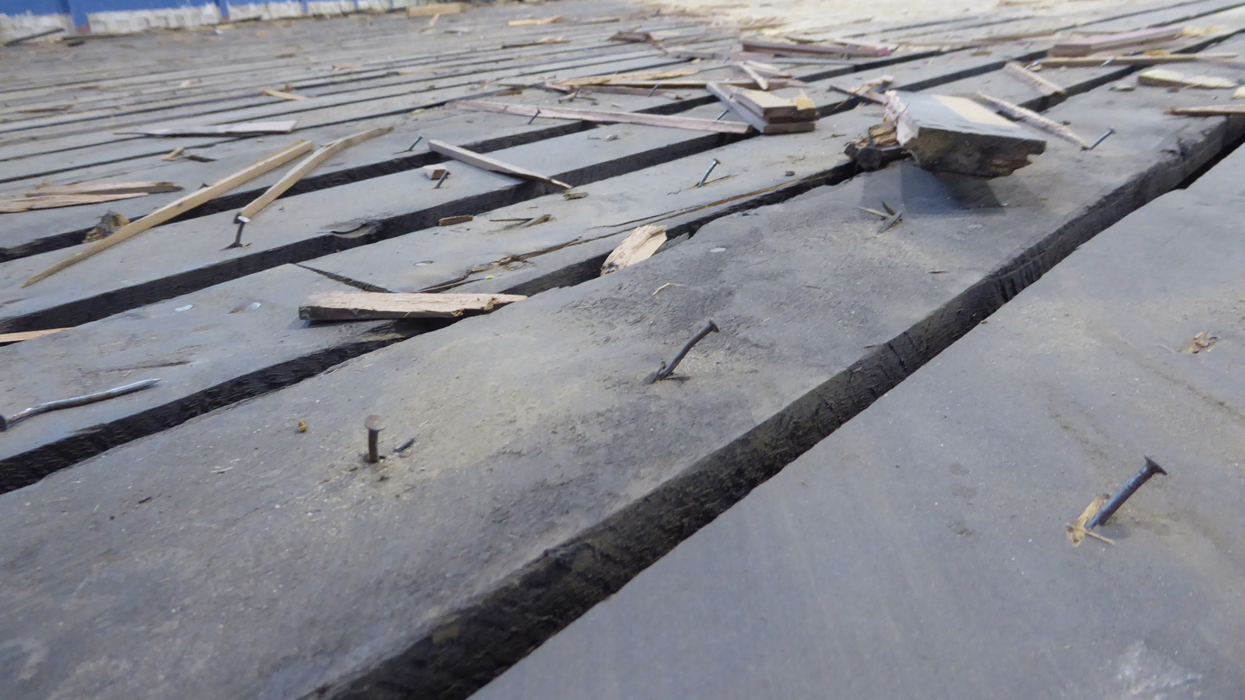 The damaged substructure