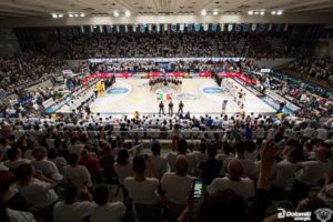 The Venetian company present in the final act between Milan and Trento