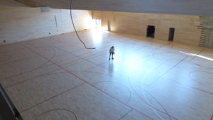 Croatia chooses parquet made by Dalla Riva Sportfloors