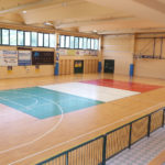 4 sports facilities set up to standard
