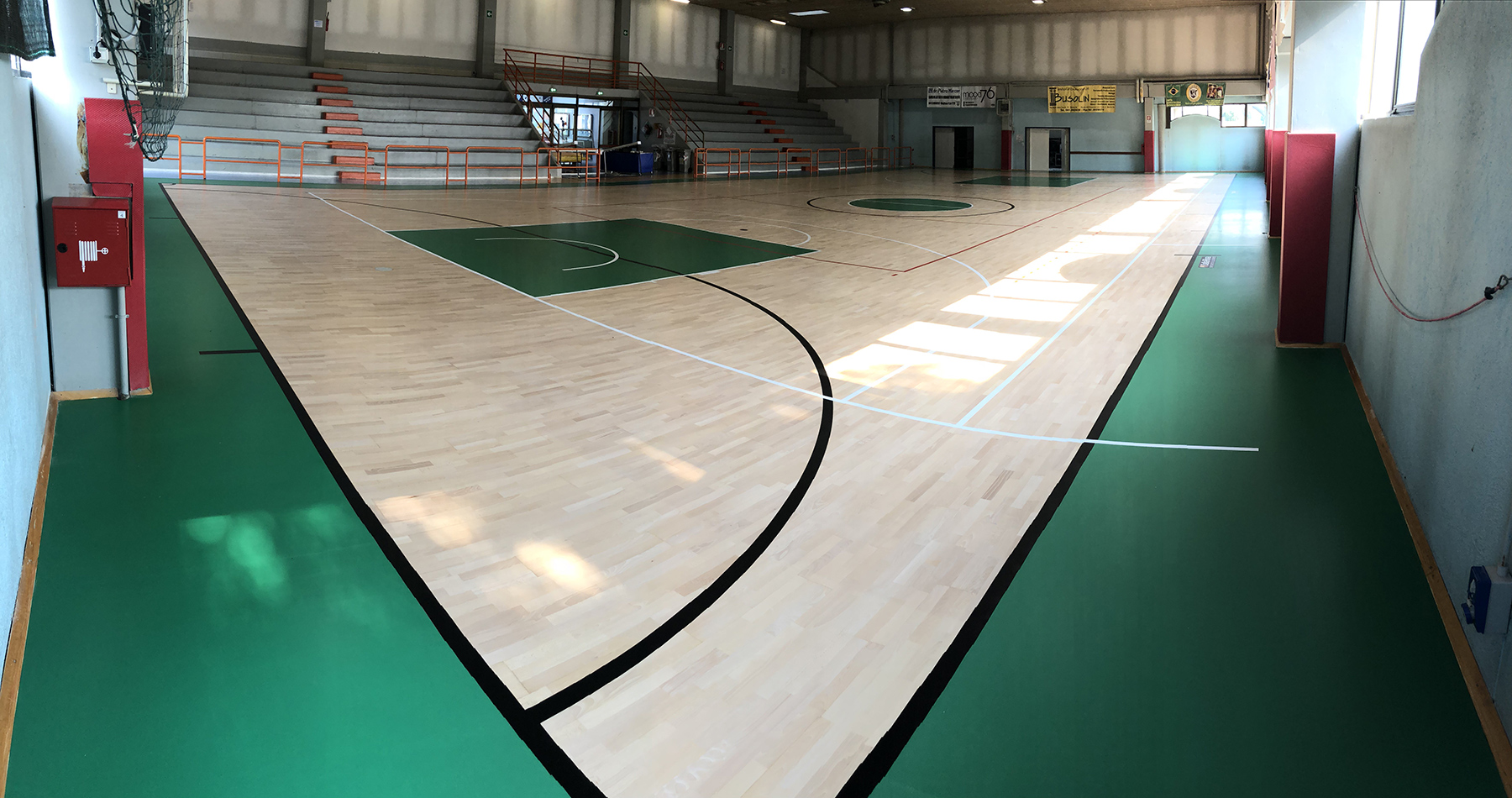 New Sports Parquet For The Marcon Sports Hall