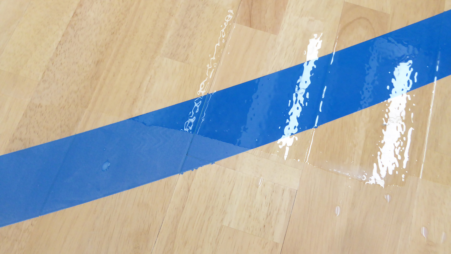 A Sports Parquet Of Absolute Value With Fiba Painting