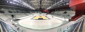 Another removable parquet for the Eurocup