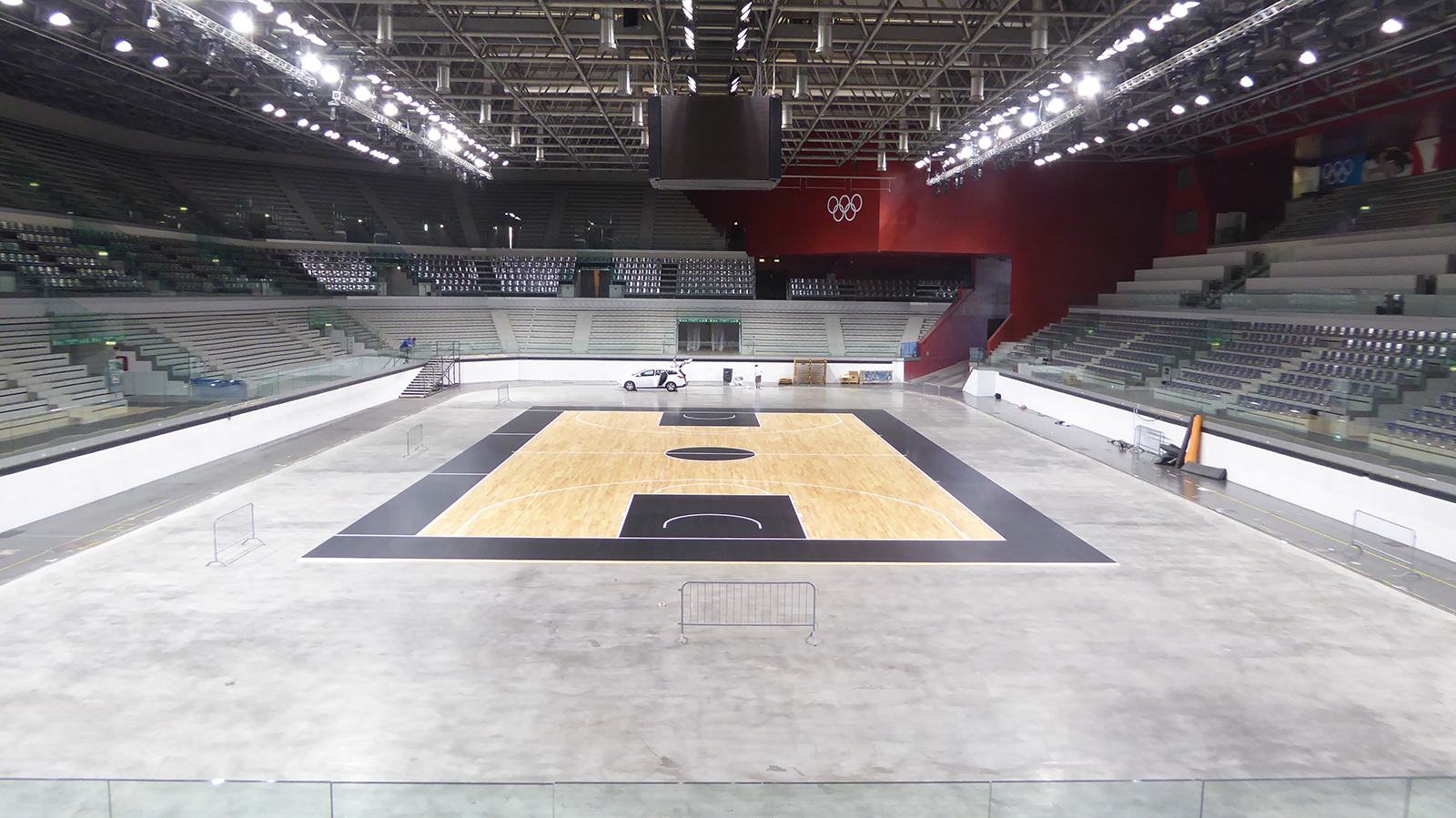 The new removable parquet is ready