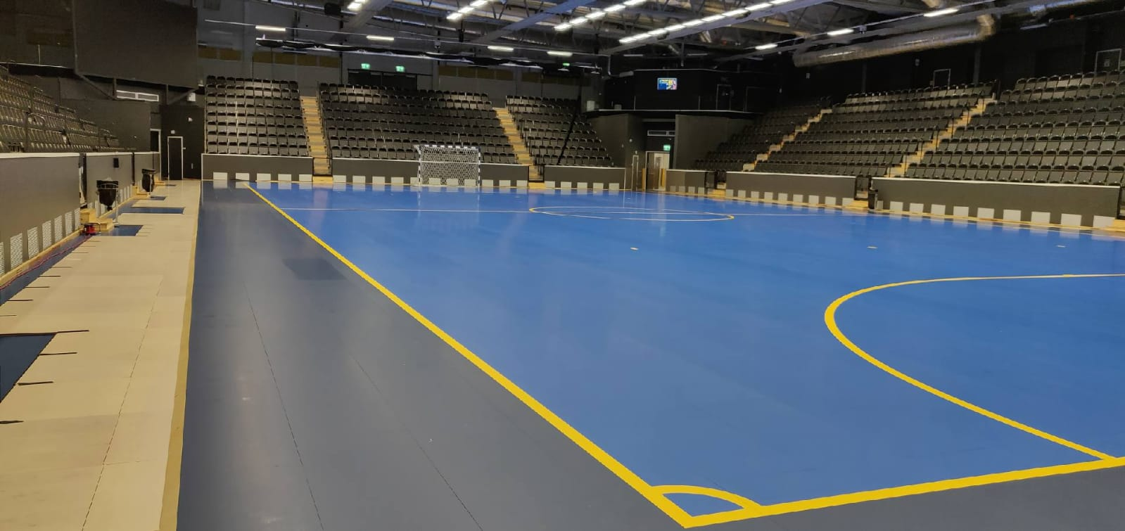 The Stockholm Arena with the new dismountable signed Dalla Riva