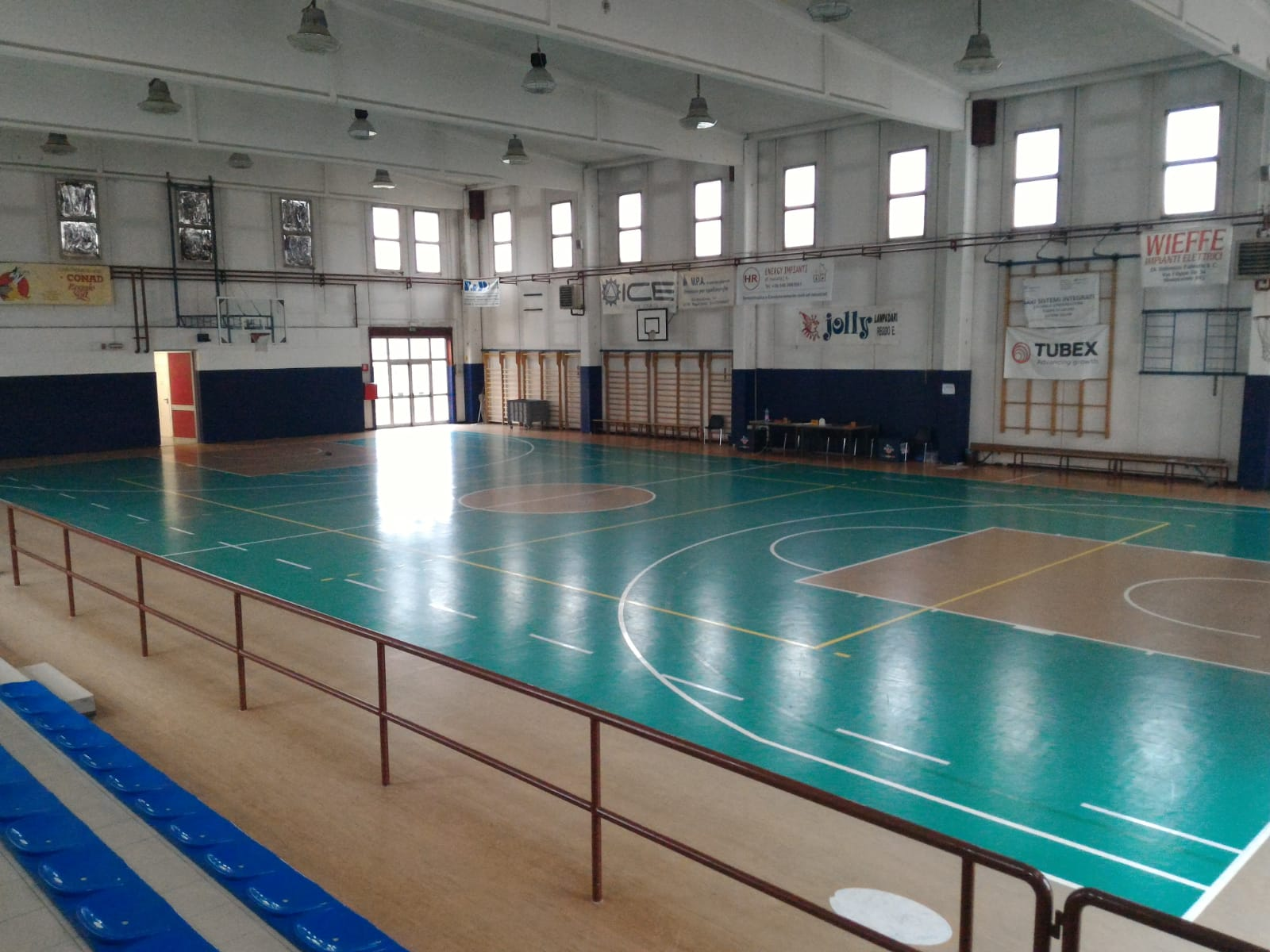 What was the flooring before the intervention of Dalla Riva Sportfloors
