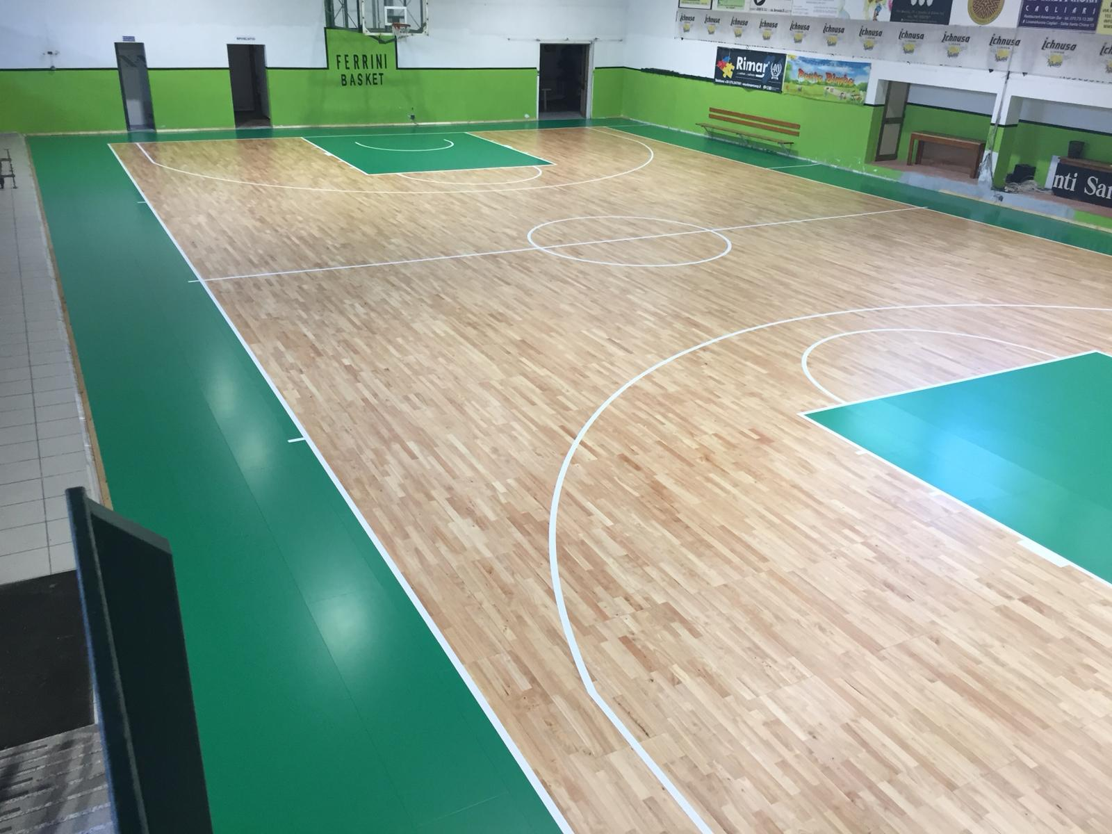Work finished: new face for the Sardinian gym