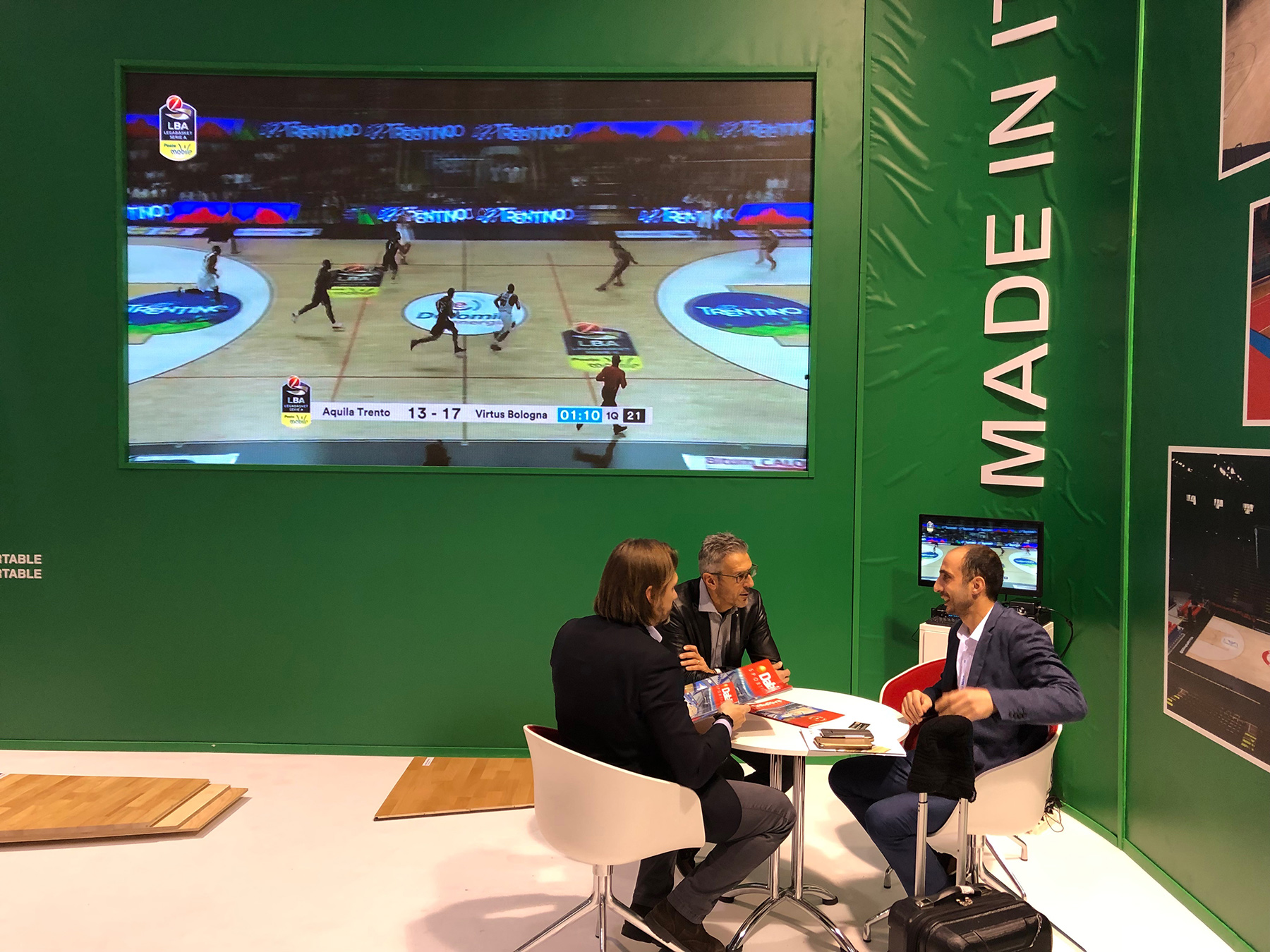 A real success for Dalla Riva Sportfloors