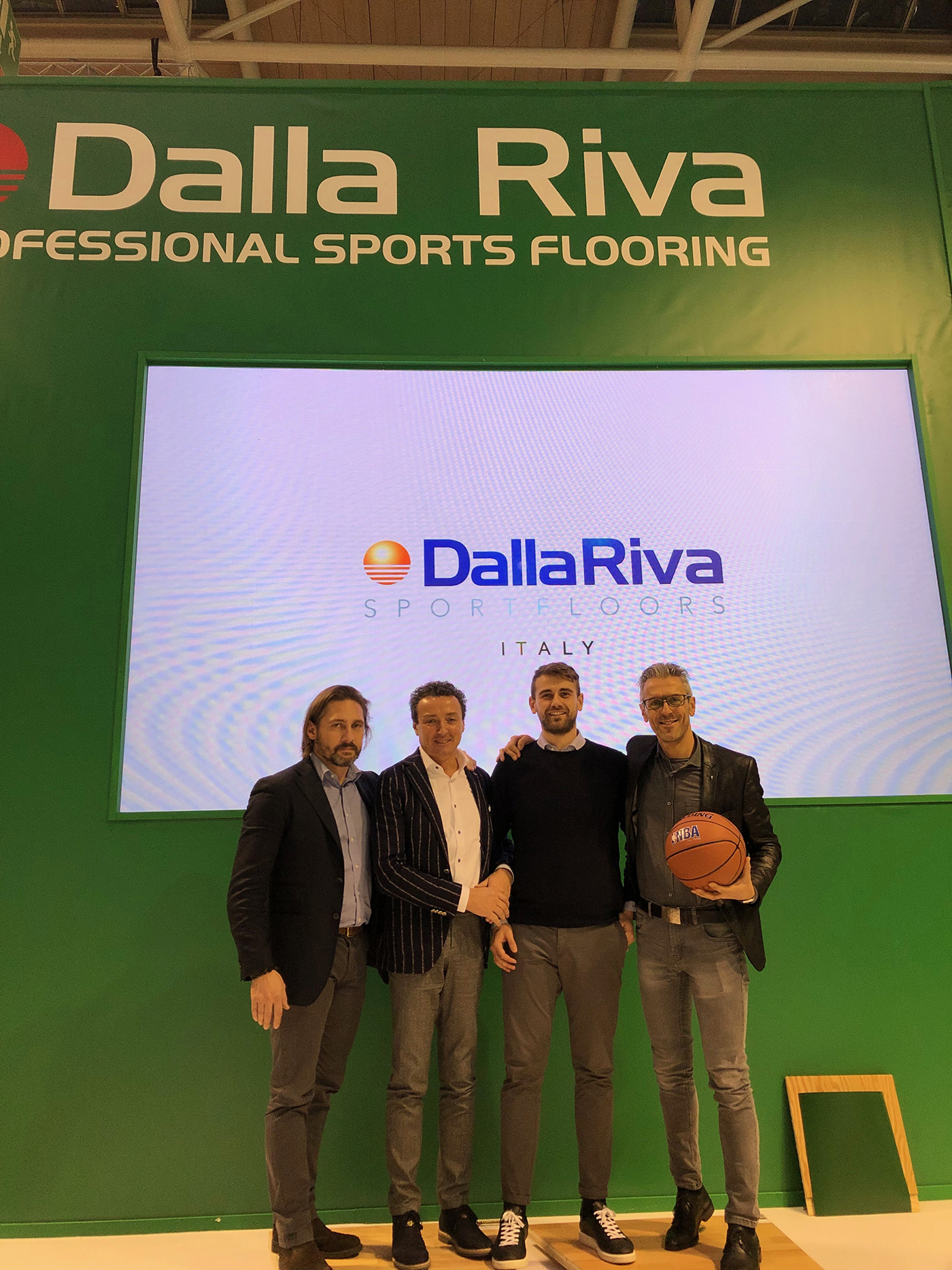 The complete Dalla Riva staff in Germany