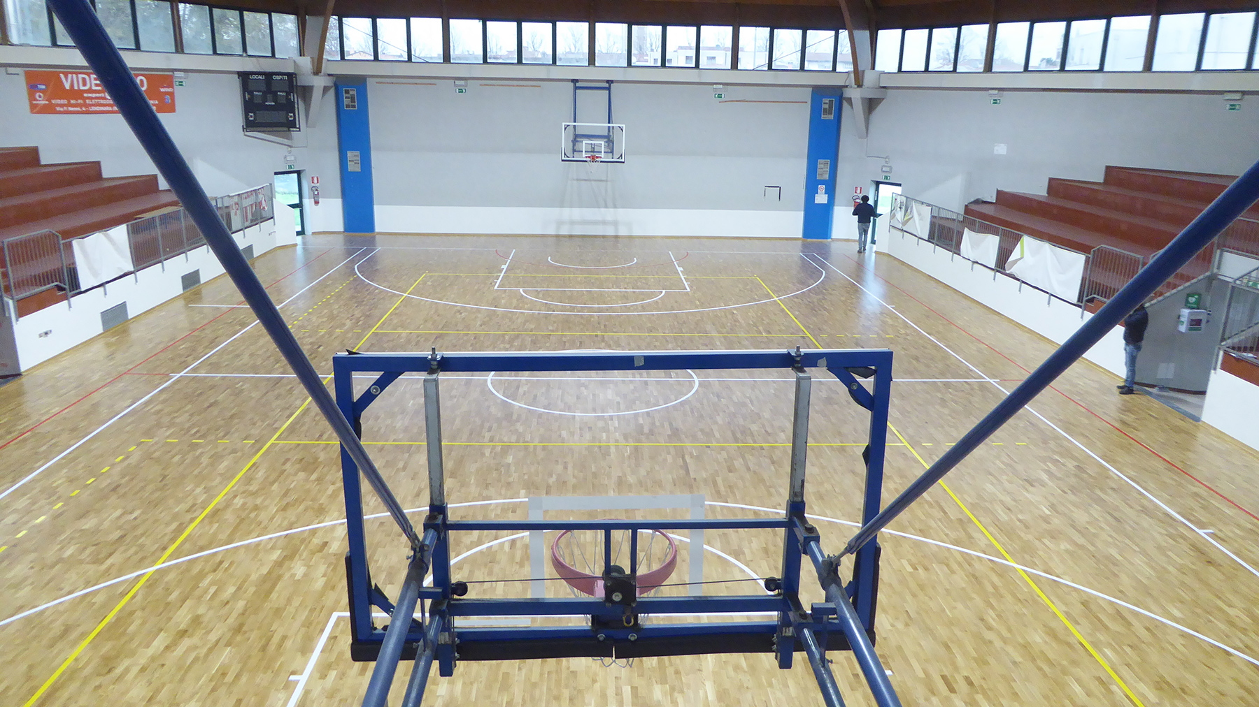 The Lendinarese companies are ready to play on a parquet designed by Dalla Riva