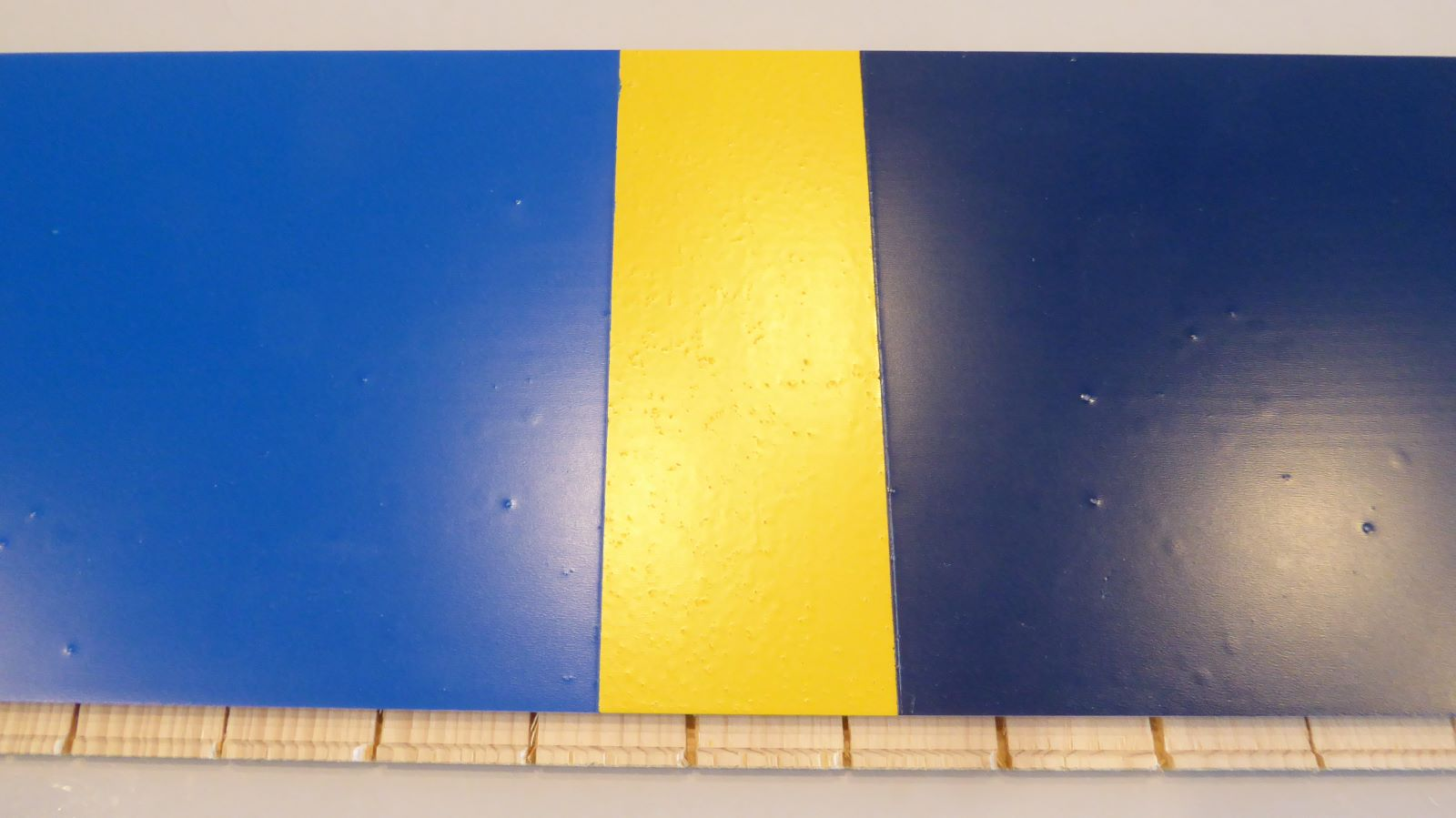The colors performed for the Swedish national team