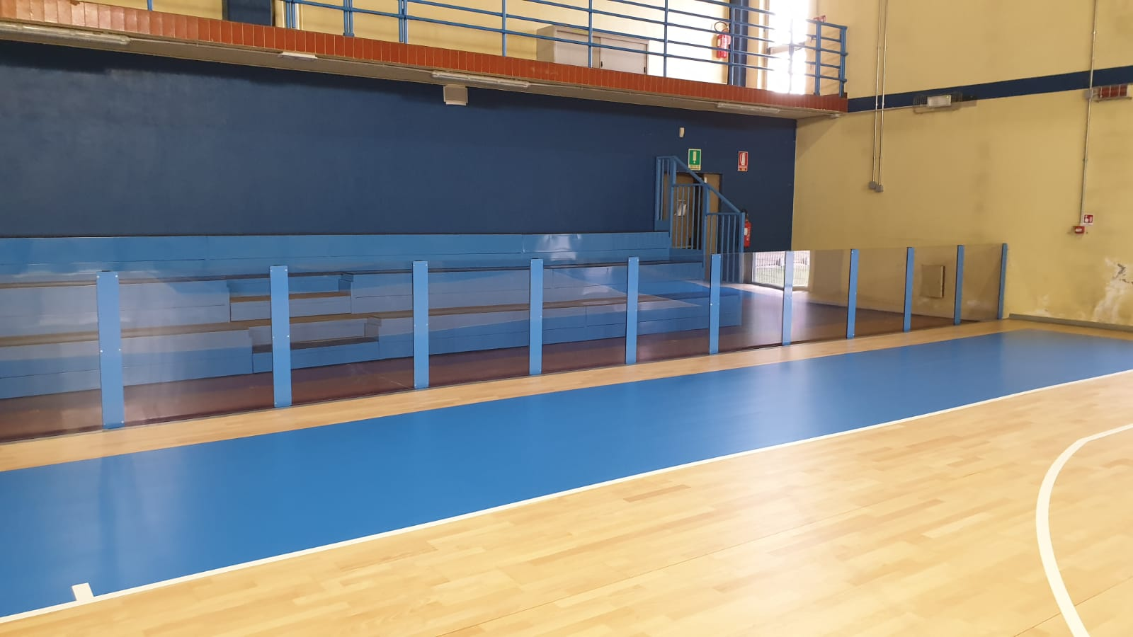 Completely renewed the sports facility for the students of the University of Turin