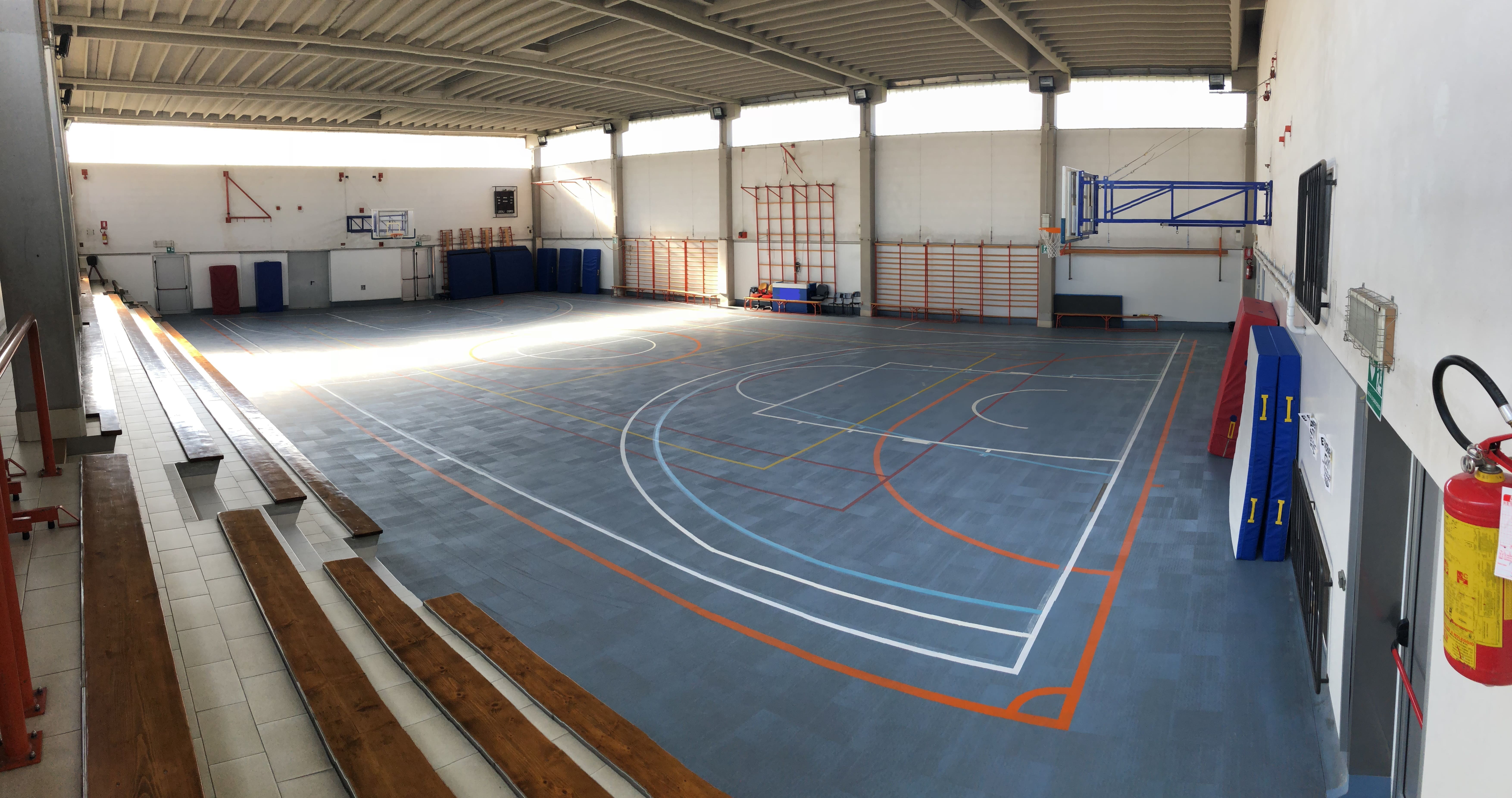 What the sports facility looked like