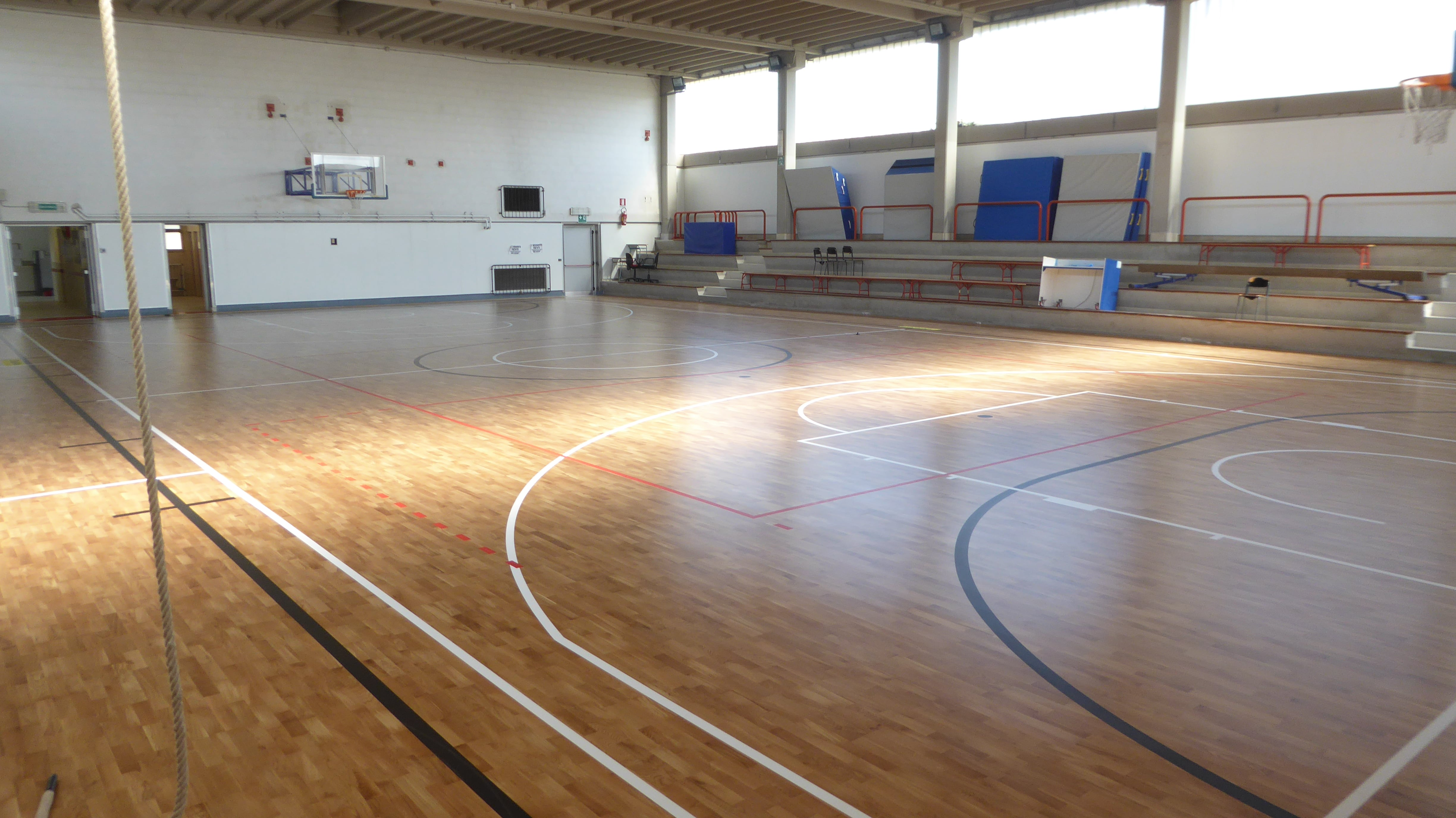 The new look of the gym