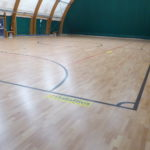 New parquet for futsal in Liguria