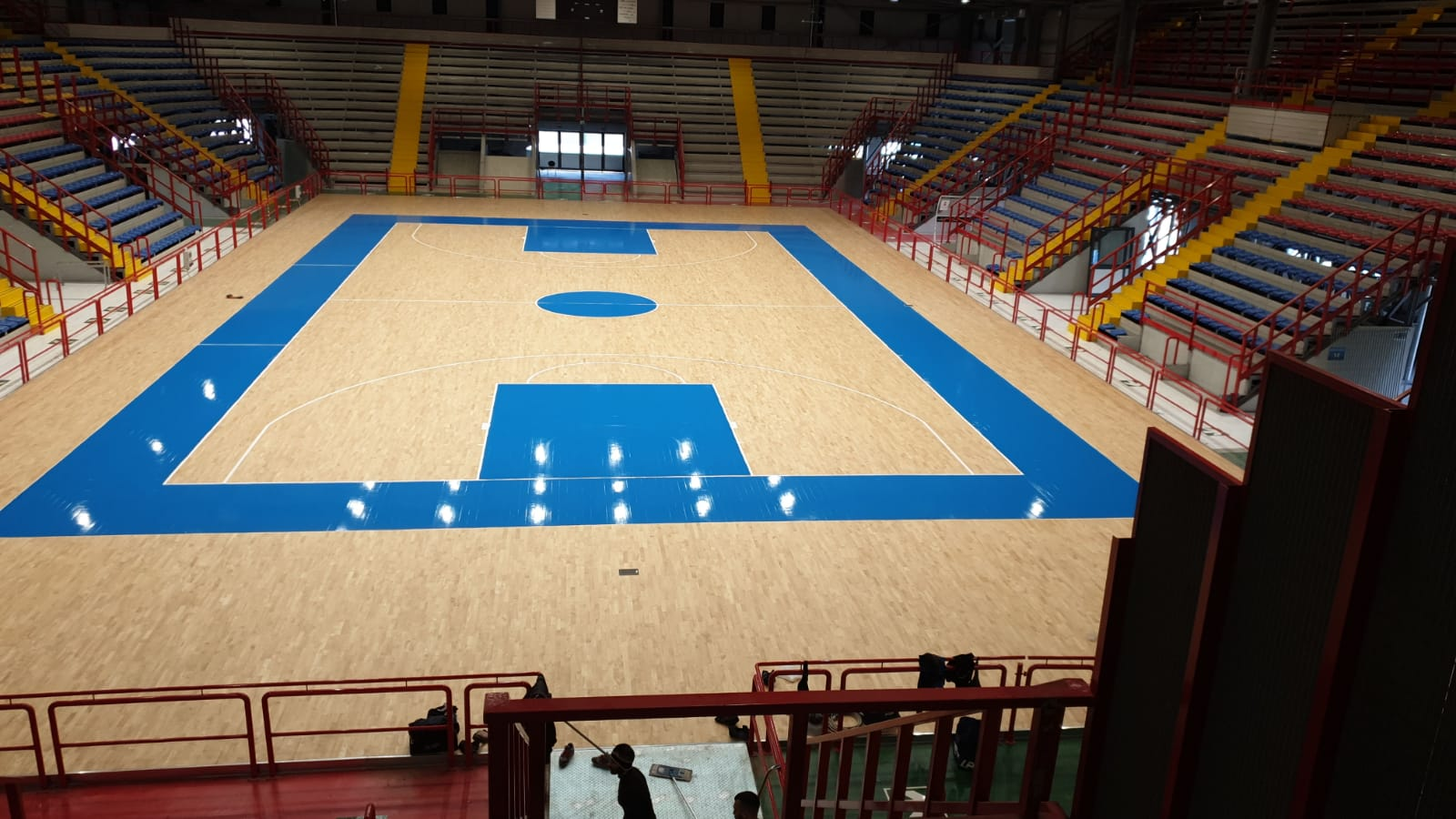 The new sports flooring signed Dalla Riva for the PalaBarbuto