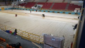 Benevento: another historic sports hall with Dalla Riva flooring