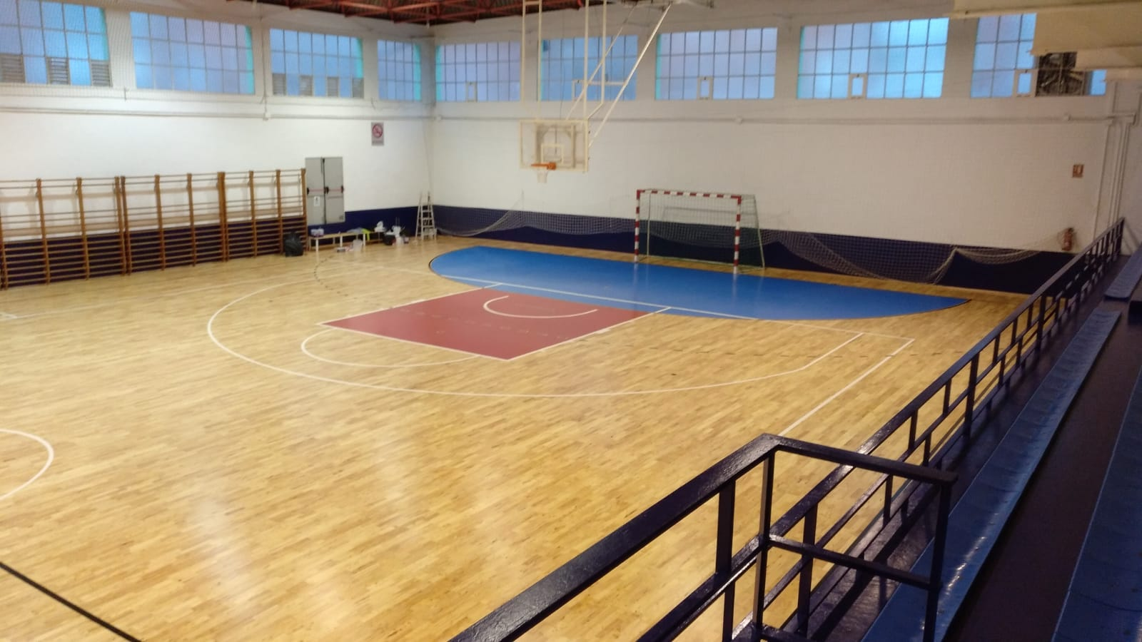 Futsal and basketball together for the third multi-purpose facility