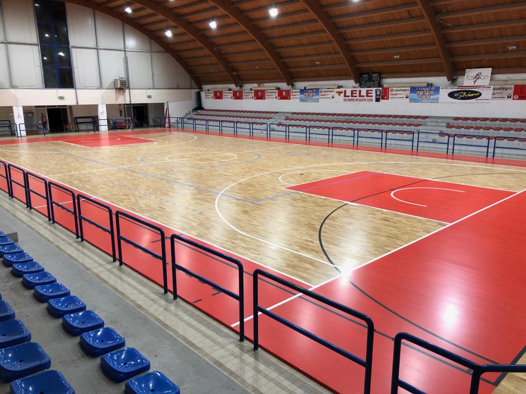 The new sports parquet in the heart of the Marche region