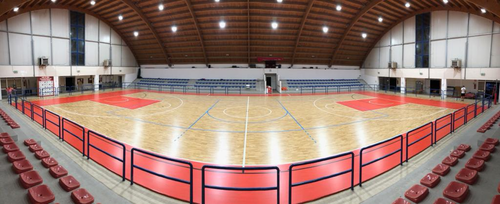 In the Marche a new sports parquet