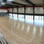 Playwood 4 predominates in a gym with underfloor heating